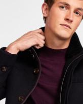 Ted Baker Funnel neck wool coat
