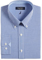 Nautica Royal Blue Gingham Dress Shirt