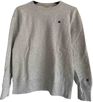 Champion Grey Cotton Knitwear for Women