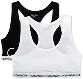 Calvin Klein Kids pack of two logo bras