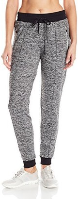 Andrew Marc Women's Marc Ny Performance Long Jogger W/Zipper Pockets