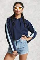 Forever 21 Contemporary Cropped Hoodie