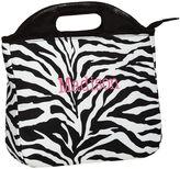 PBteen Gear-Up Black Zebra Tote Lunch Bag