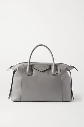 Givenchy Antigona Soft Medium Leather Tote - Gray