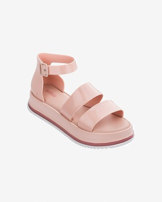 Express Melissa Pink Model Platform Sandals