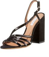 Tabitha Simmons Viola Asymmetric Sequined Sandals