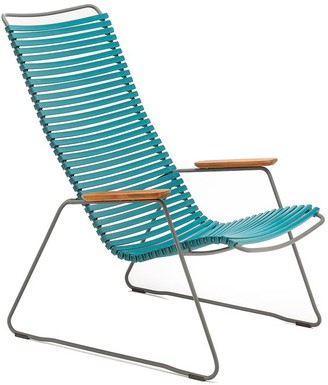 Ecc Lighting & Furniture Click Outdoor Lounge Chair Petrol