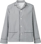 Officine Generale striped pyjama style shirt - men - Cotton - M