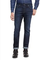 Michael Kors Slim-Fit Straight-Leg Jeans, Indigo