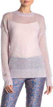 French Connection Miri Sheer Pullover Sweater