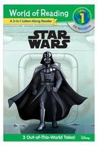 Star Wars 3-in-1 Listen-Along Reader (Paperback)