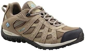 Columbia Women's Redmond Waterproof Low Rise Hiking Boots, Beige (Pebble/Sky Blue), 38.5 EU