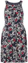 Dorothy Perkins Floral Pinny Fit And Flare Dress
