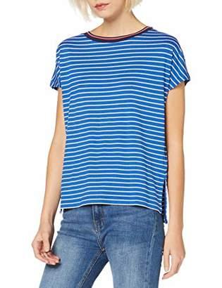 Tommy Jeans Women's Stripe Knit Long Sleeve Crew Neck T-Shirt,(Manufacturer Size: M)