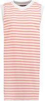 Petit Bateau Striped stretch-cotton mini dress