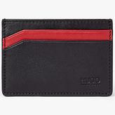 Hugo Boss Hugo By Hugo Boss Leather Travel Card Holder, Red/black
