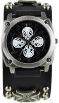 Nemesis Men's 932MICK Skull Iron Cross Series Analog Display Japanese Quartz Watch