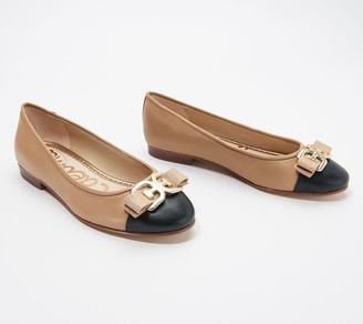 Sam Edelman Leather Ballet Flats - Mage