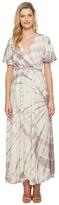 Culture Phit Fabiola Short Sleeve Tie-Dye Maxi Dress Women's Dress