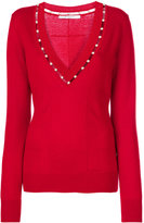 Givenchy v-neck sweater - women - Silk/Cashmere/Wool - S