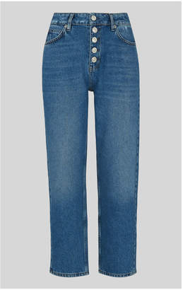 Whistles Hollie Button Front Jean