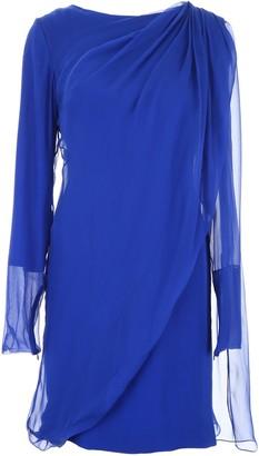 Lanvin Sheer Detailed Dress