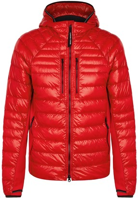 Canada Goose Hybridge Lite Red Quilted Shell Jacket