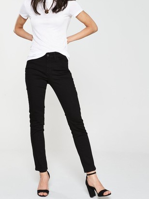 Very Short Ashton Mid Rise Slim Leg