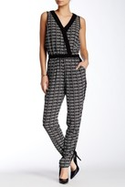 Adrianna Papell Crossover Graphic Jumpsuit 16PD10320