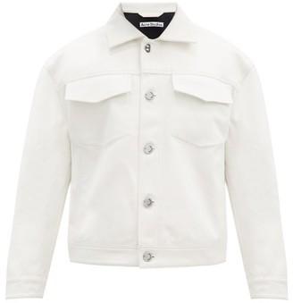 Acne Studios Magnite Cotton-twill Jacket - Cream