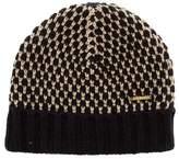 Little Marc Jacobs Girls' Knit Metallic-Accented Beanie