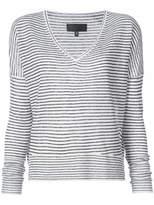 Nili Lotan striped V-neck sweater