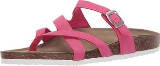 Madden-Girl Women's Bartlet Flat Sandal