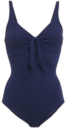Melissa Odabash Lisbon Knotted Stretch-pique Swimsuit