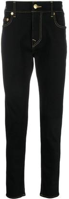 True Religion Stiching-Detail Slim-Fit Jeans