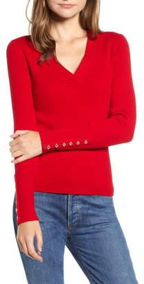 Tommy Hilfiger Rib V-Neck Sweater