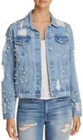 Glamorous Embellished Denim Jacket