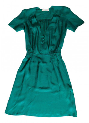 Sessun Green Silk Dresses