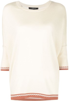 Derek Lam Two-Fabric Top