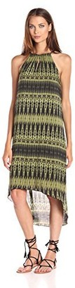 Kensie Women's Linear Ikat Dress