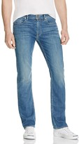 Paige Normandie Straight Fit Jeans in Ellex
