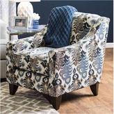 Asstd National Brand Meriza Contemporary Fabric Club Chair