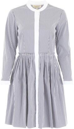 MICHAEL Michael Kors Stripe Pattern Dress