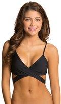 L-Space LSpace Swimwear Sensual Solids Chloe Wrap Bikini Top - 7536981