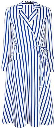 Polo Ralph Lauren Striped Wrap Dress