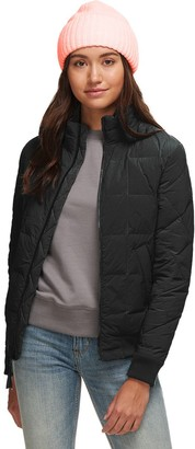 Basin and Range Cropped Down Bomber Jacket - Women's