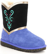 UGG Girls' Disney® Anna Coronation Color-Blocked Boots