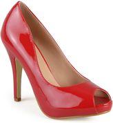 Journee Collection Lowis Women's Peep-Toe High Heels