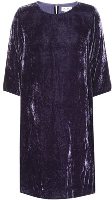 Velvet Prunella dress