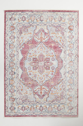 Anthropologie Belle Viscose Rug By in Purple Size 2 X 3
